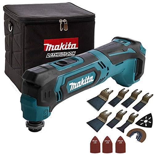 Makita TM30DZ 10.8V CXT Multitool with Cube Tool Bag & 39Pcs Accessories Set