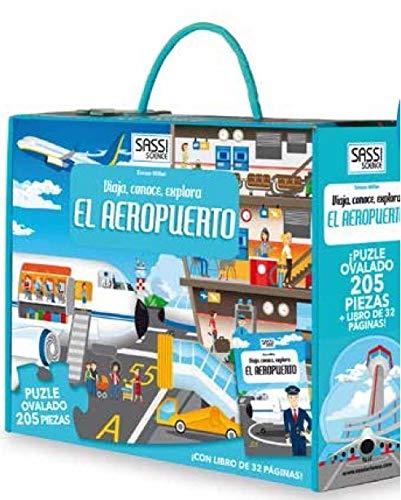 Manolito Books 9789461887160 Libro con Puzzle Aeropuerto 28x23, Multicolor ( 9789461887160)