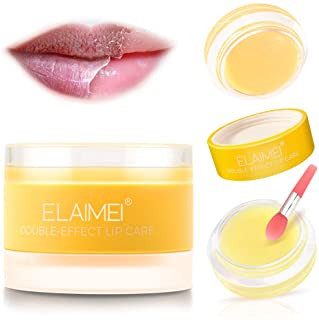 Lip Scrub, Lip Treatment Soothing Moisturizing Lip Mask for Chapped and Cracked Lips, Younger Looking Lips ...