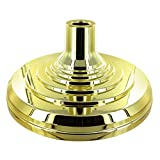 Super Tough Floor Stand Base for Indoor Flagpole – Metallic Gold