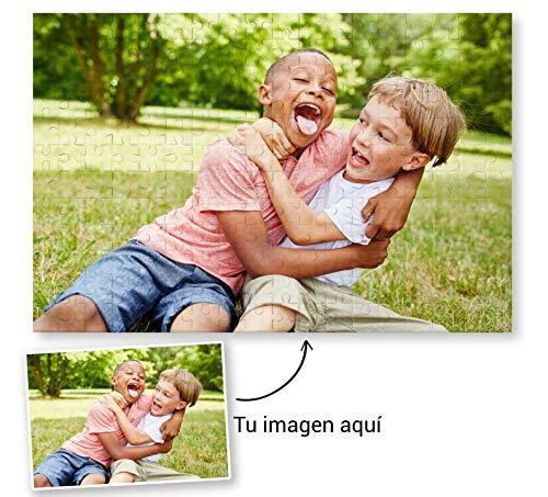 Fotoprix Puzzle Personalizado con tu Foto preferida y Texto de 500 Piezas | 5 Modelos Disponibles | Regalo Original (34x48 cms)