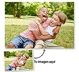 Fotoprix Puzzle de 500 Piezas Personalizado con tu Foto preferida y Texto | 5 Modelos Disponibles | Regalo Original con Foto Personalizada | Tamaño: 34x48 cms