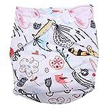 maillot de bain Swim Diaper Bébé Infant Snap Absorbant Lavable Maillot De Bain Couches Réutilisable Nappy De Natation pour Garçons Filles Natation Cours, Taille Unique(#2)