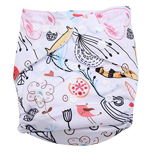 Swim Diaper Baby Infant Snap Absorbente Lavable Swimsuit Pañal Reutilizable Swim Pañal Para Niñas, Niños Clases De Natación, Talla Única Todos(#2)
