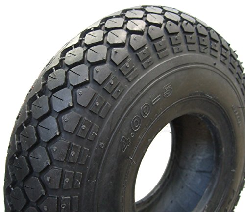 Cheng Shin Neumáticos para silla de ruedas 4.00-5 (330 x 100), 4 PR, color negro