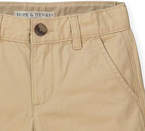Hope /& Henry Boys Uniform Chino Short