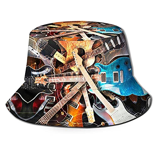LENGDANU Bucket Hat - Sombrero de verano para playa, sombrero de pescador
