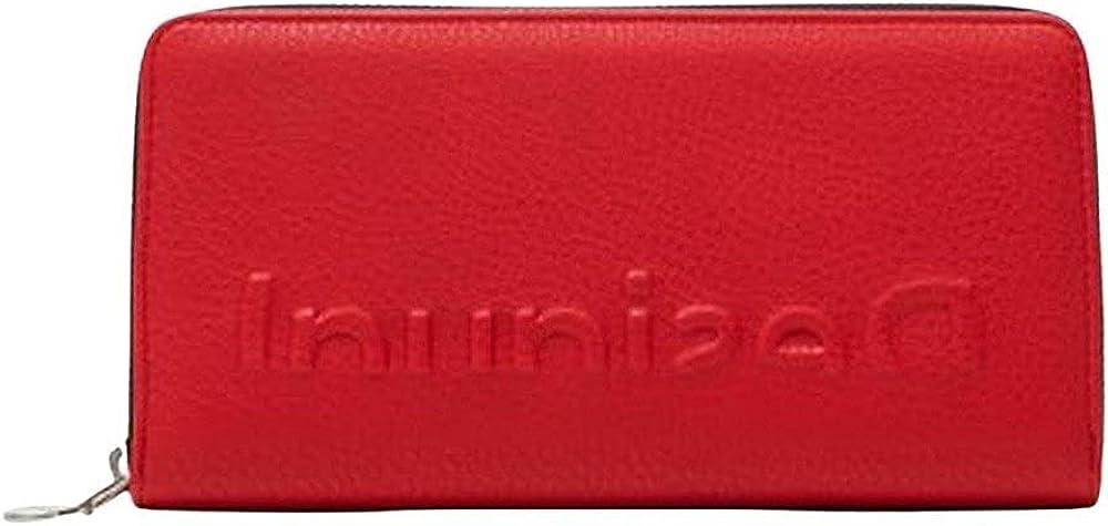 Desigual long wallet portafoglio porta carte di credito per donna in pelle sintetica 21SAYP35