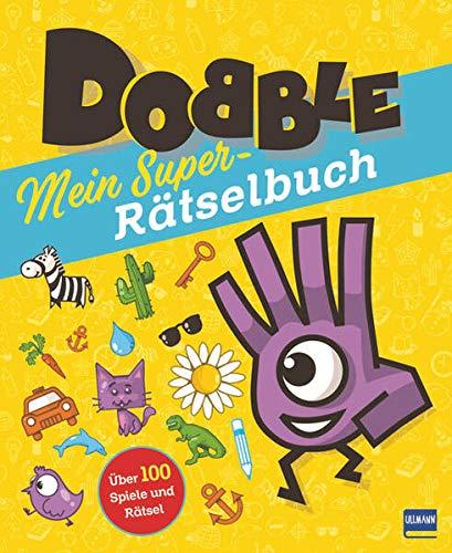 Dobble - Mein Super-Rätselbuch: Das offizielle Rätselbuch zum beliebten Spiel