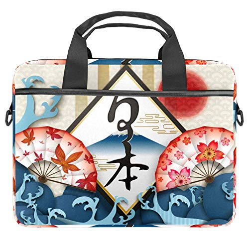 Laptoptasche Fuji Mountain Maples and Sakura. 27,9 x 36,8 cm