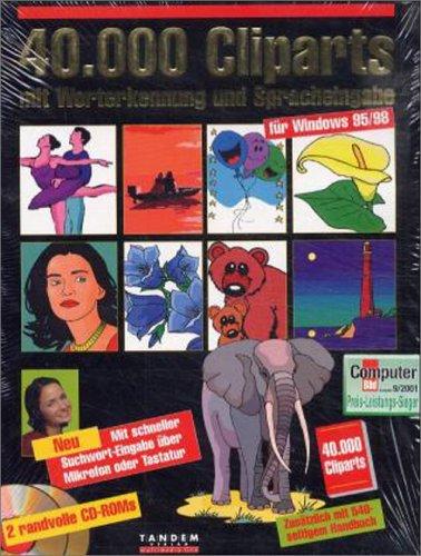 40.000 Cliparts mit Worterkennung und Spracheingabe, 2 CD-ROMsFür Windows 95/98. Mit schneller Suchwort-Eingabe über Mikrofon oder Tastatur