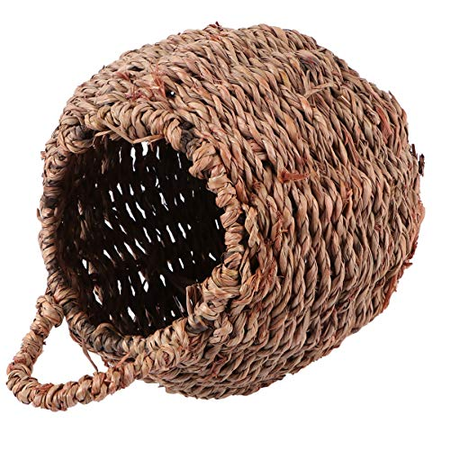 DOITOOL Straw Planter Basket Flower Pots Plant Container Woven Basket Storage Bin Flower Plant Holders for Home Wedding Decoration