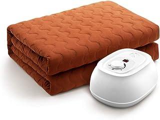 YLHJY Acolchado Paño Manta eléctrica Colchoncillo calefacción, Circulación del Agua Manta calefactora Manta del Tiro de Felpa -C 90x180cm(35x71inch)