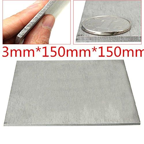 EsportsMJJ titaanlegering plaat Tc4/Gr5 titanium plaat 3 X 150 X 150 mm