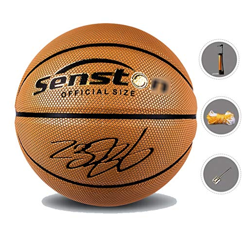 Great Price! YE ZI Basketballs- Standard Basketball Indoor and Outdoor No. 7 Basketball Size 9.7 inc...