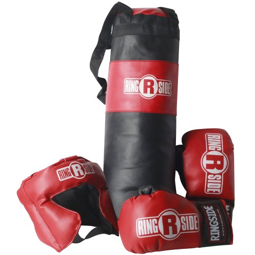 Ringside Kids Boxing Gift Set (2-5 Year Old), Black