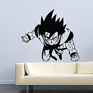 Dragon Ball Z PERSONALIZED NAME Decal Removable WALL STICKER Goku Shenron J238