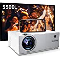 OKCOO 5500-Lumens LED Projector