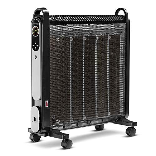 TROTEC Wärmewellenheizer Konvektor TCH 2050 E Heizleistung 2.000 Watt IR-Fernbedienung Timer Räume bis 24m²/60m³ Zusatzheizung leise LCD-Display 2 Heizstufen