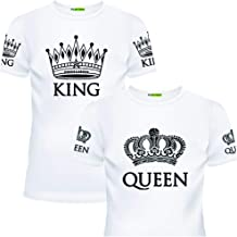 King and Queen Matching Shirts for Couples