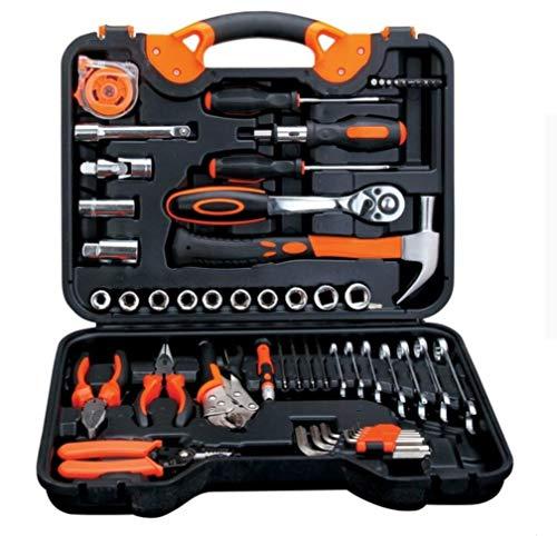 Auto-Reparatur-Set Hardware Kombination Tool Socket Ratschenschlüssel Schraubendreher Kräftig Zangen Haushalt Set Toolbox