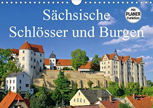 Sächsische Schlösser und Burgen (Wandkalender 2021 DIN A4 quer)