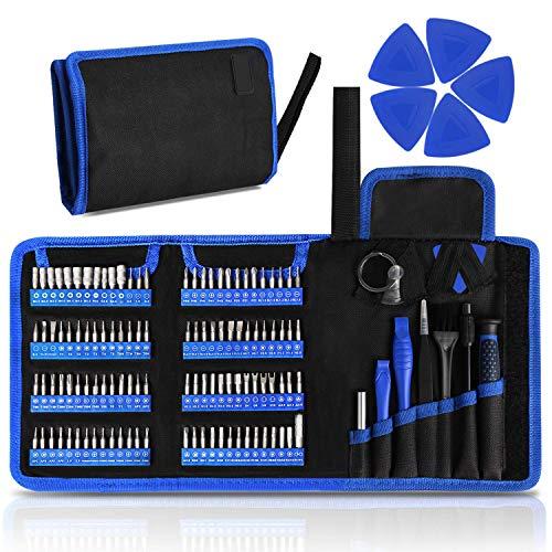 Destornilladores de precisión, 126 PCS DIY herramientas de reparación Kit de accesorios...
