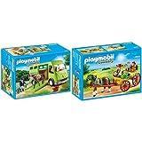 Playmobil 6928 - Pferdetransporter &  6932 - Pferdekutsche