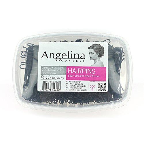 Petit matériel, Epingles neiges droites 70mm - Noires, Shop Hair