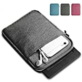 WOOPOWER Manica per Kindle Paperwhite/Kindle Voyage, 15,2 cm di Tela Borsa per Kindle Paperwhite, Kindle Voyage, Kindle 558/958/kV e-Reader della Custodia, Dark Gray