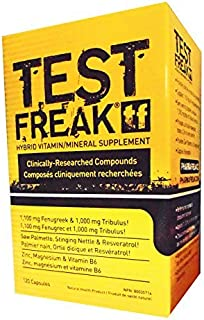 test freak and ripped freak stack