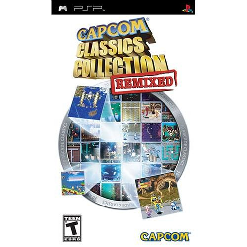 Capcom Classics Collection Remixed - Sony PSP