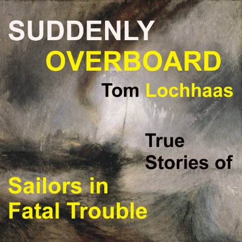 Suddenly Overboard audiobook cover art