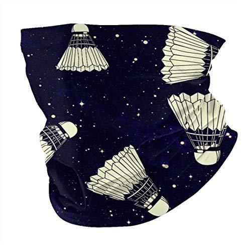 Multifunktionstuch | Schlauchtuch | Bandana | Halstuch | Space Badminton Neck Gaiter/Cooling Neck Gaiter Mask for Kids/Gaiter for Men Summer/Face Shield Mask for Child