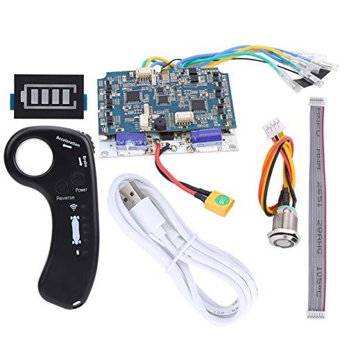EVTSCAN Set di Controller per Scooter Elettrico, Pannello di Controllo del Motore del mozzo a Doppia Trasmissione ESC per Scooter, monocicli, Scooter con bilanciamento