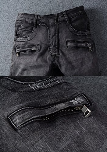 jeans with zips on legs men& 39