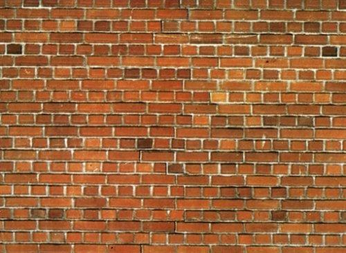 NOCH 57550 - Spielwaren, Mauerplatte Ziegelstein