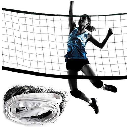 MICHAELA BLAKE Red del Voleibol Portable Blanco Playa Neto De Bádminton Juego De Bola Neta Al Aire Libre Y La Práctica De Deportes De Interior