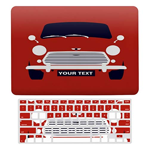 For MacBook New Pro 13 Touch 13 Inch Case A1706, A198, A2159, Hard Shell & Keyboard Case Cover for Apple Mac New Pro 13 Touch, Custom Classic Mini Cooper Car Laptop Protective Shell Set