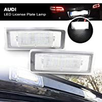 Led License Plate Lights OEM Replacement Number Lamp Assembly Rear Light for TT Roadster 8N9 Coupe 8N3 1998-06