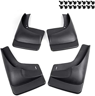4pc for 1999-2007 Chevy Silverado GMC Sierra 1500 2500 3500 Mud Flaps Mud Guards Splash Front Rear Molded Wheel Mudguard Kit