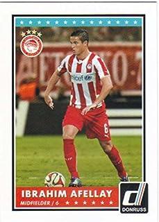 2015 Panini Donruss Soccer #78 Ibrahim Afellay Olympiacos FC