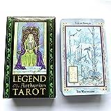 La Leyenda Arthurian Tarot Tarjetas De Tarot, Tarjetas De Oracle, Tarjetas De Adivinación, Adecuado para Principiantes, Todos, Reuniones Familiares, Juegos De Mesa, Fiestas De Entretenimiento