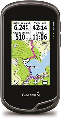 Garmin Oregon 600t - Navegador GPS (NMEA 0183, All Europe, 76.2 mm (3