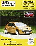 E.T.A.I - Revue Technique Automobile B711.5 - PEUGEOT 207 - 2006 à 2017 - 1.6 Vti et Hdi