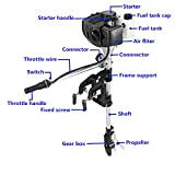 Sky 2-Stroke 2.5HP Superior Engine Outboard Motor Inflatable Fishing Boat