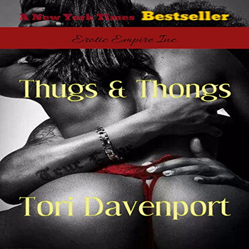 Thugs & Thongs audiobook cover art