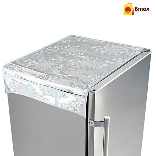 Bmax PVC Fridge Top Cover, Standard Size, Grey
