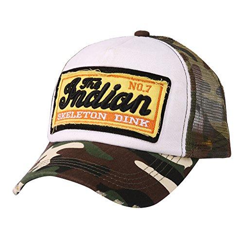 Gorras de béisbol,riou Beisbol con Visera Ajustable de algodón de Estilo Vintage Unisex Casual Malla...
