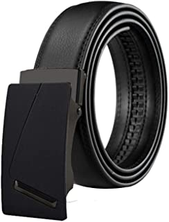 Men Belt Cowskin Belt Automatic Buckle Large Genuine Leather Luxury Belt Classic
